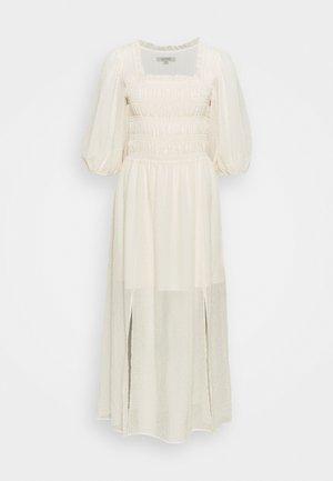 LIVI TEX DRESS - Sukienka letnia - off white