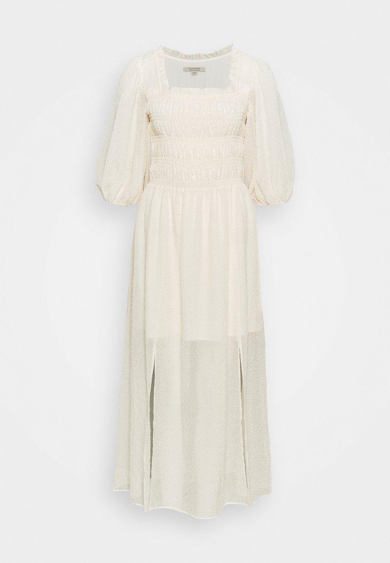 AllSaints - LIVI TEX DRESS - Kjole - off white