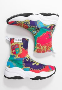 Versace Jeans Couture - CHUNKY SOLE - High-top trainers - multicolor - 3