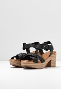 Carmela - Sandały na platformie - black - 4