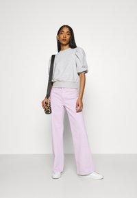 Monki - YOKO - Straight leg jeans - lilac purple light - 1