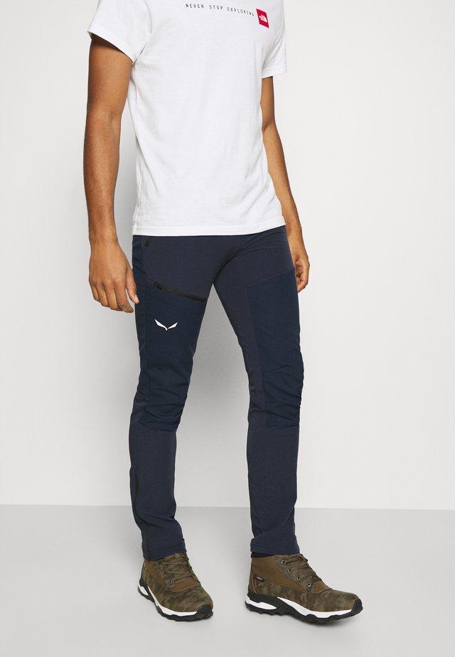 PUEZ ORVAL - Pantaloni - navy blazer