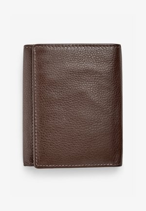 SIGNATURE ITALIAN LEATHER EXTRA CAPACITY TRIFOLD - Wallet - brown