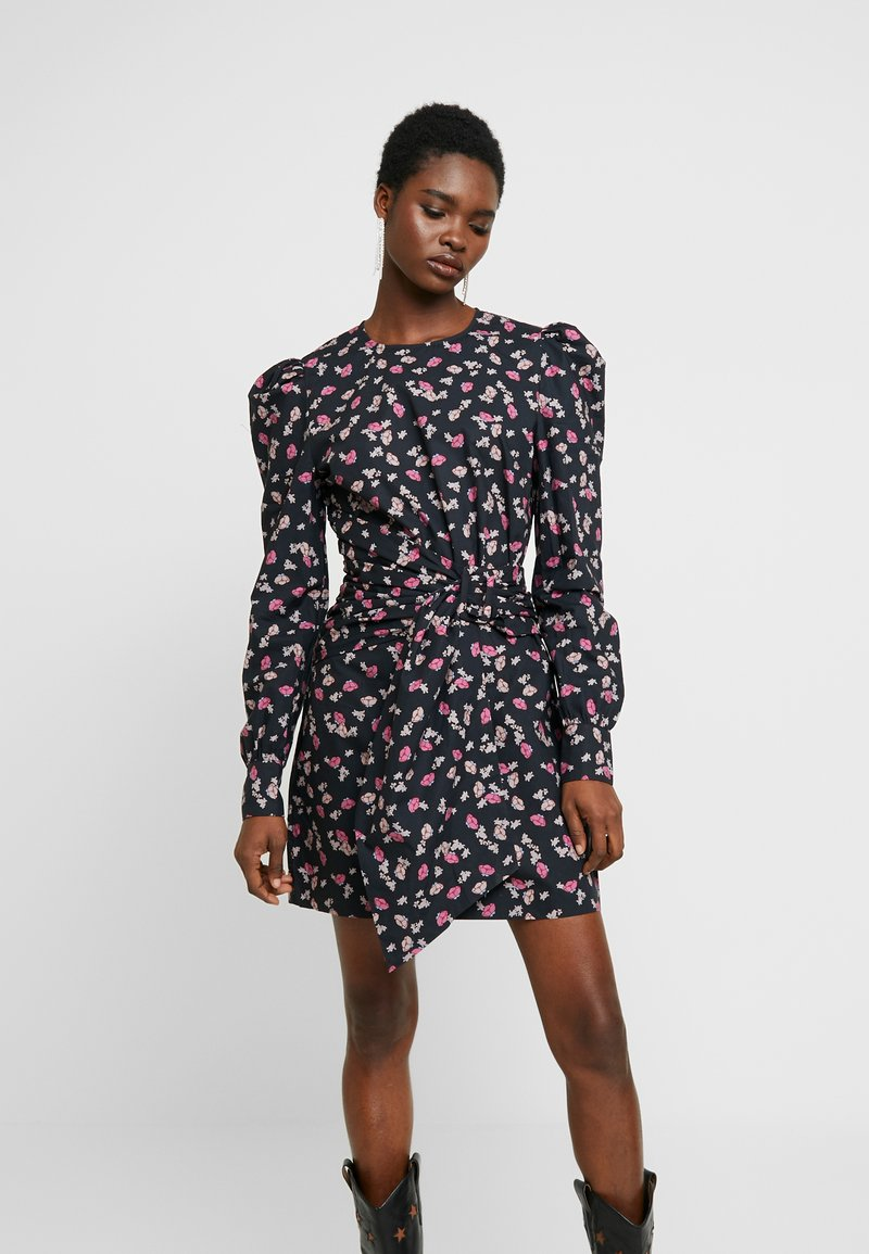 Custommade - TARRA - Robe d'été - anthracite black