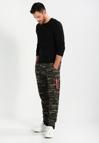 Alpha Industries - FIT PANT - Pantalon de survêtement - woodl. camo 65 - 1