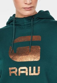 G-Star - GRAPHIC LYNAZ HOODED - Hoodie - green - 3