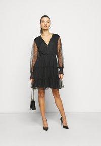 YAS Petite - YASLISSO DRESS - Cocktail dress / Party dress - black - 1