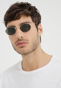 Ray-Ban - 0RB3547N OVAL - Sunglasses - gold-coloured - 1
