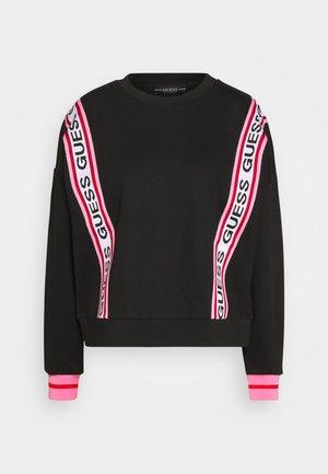 CLEMENCE - Sweater - jet black