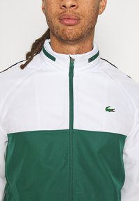 Lacoste Sport - TRACK SUIT - Trainingspak - bottle green/white/black - 6