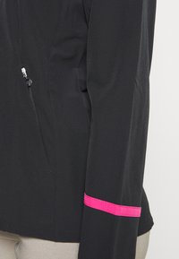 Callaway - FULL ZIP JACKET - Waterproof jacket - caviar/lilac rose pop - 4