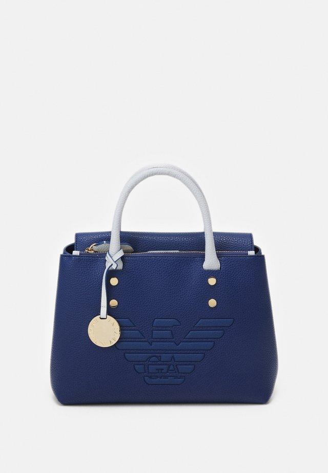 ROBERTA BIG EAGLE - Handbag - oltremare/perla