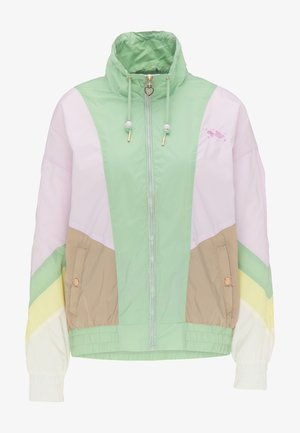 WINDBREAKER - Summer jacket - neo mint cblock
