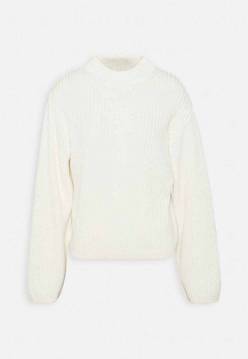 Gina Tricot - TESS SWEATER - Strikkegenser - warm white