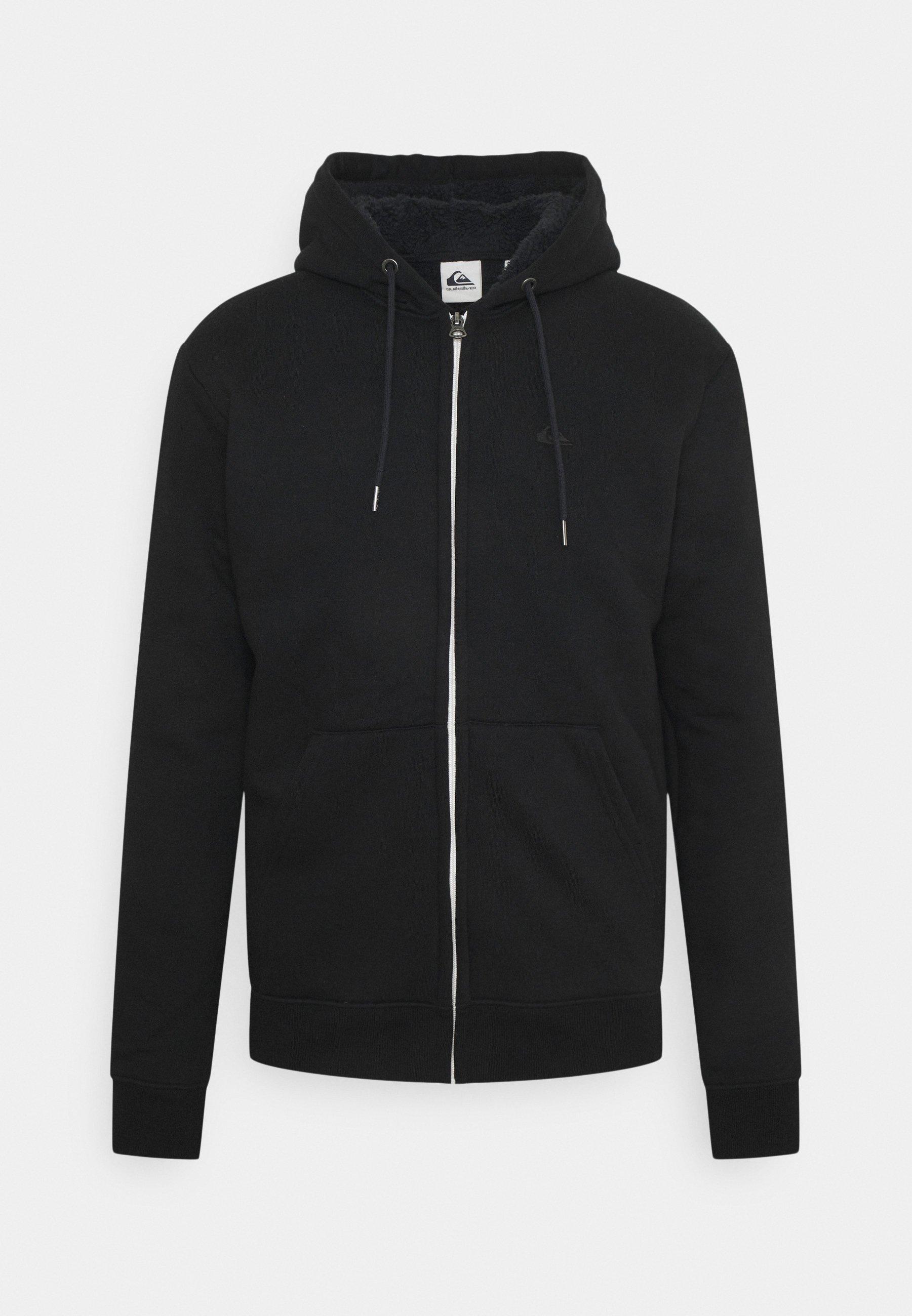 Men ESSENTIALS SHERPA - Zip-up sweatshirt