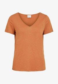 mottled orange