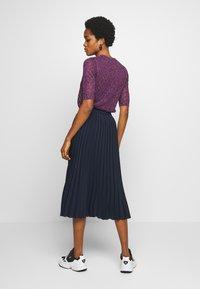 EDITED - PIPER SKIRT - A-line skirt - navy - 2