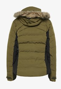 Salomon - STORM COZY JACKET - Skijakke - martini olive/heather - 1