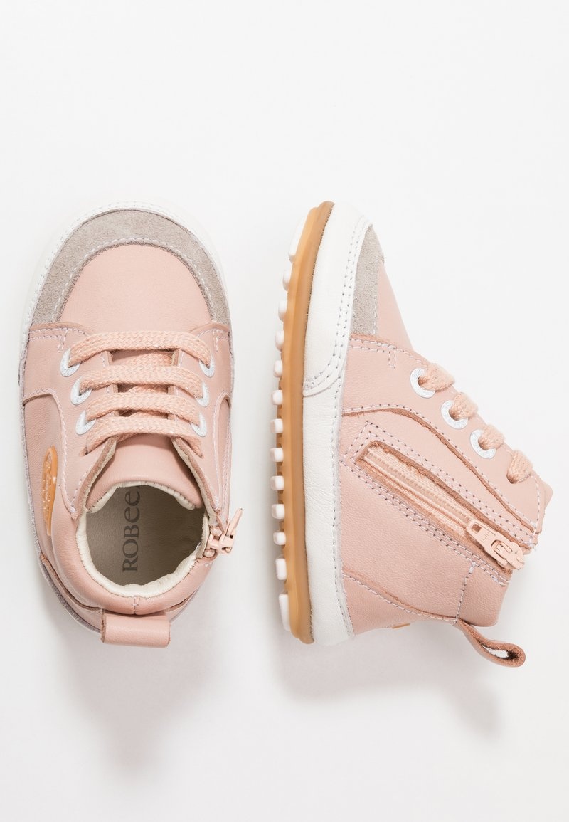 Robeez - MIGO - First shoes - light pink