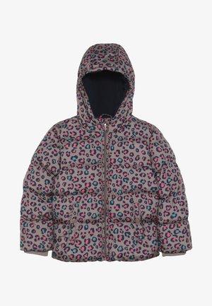 Winter jacket - deep taupe