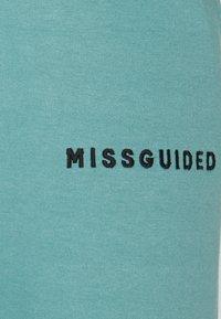 Missguided Petite - HOODIE AND JOGGER SET - Zip-up sweatshirt - blue - 6