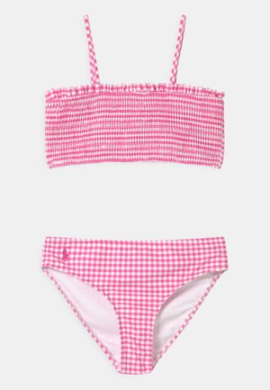SWIMWEAR SET - Bikiny - baja pink/white