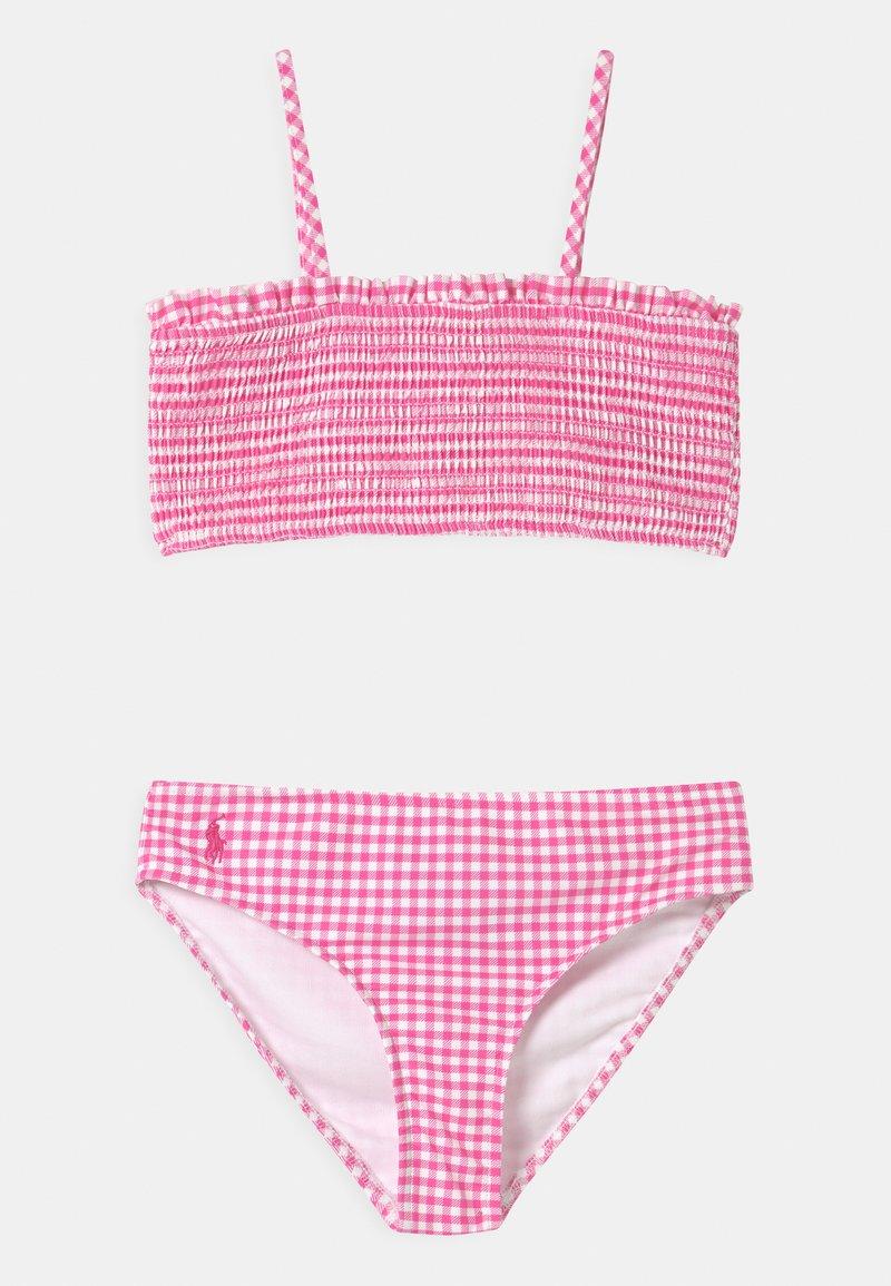 Polo Ralph Lauren - SWIMWEAR SET - Bikiny - baja pink/white