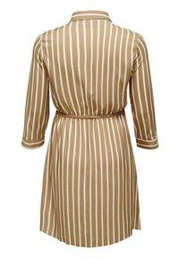 ONLY Carmakoma - Shirt dress - tannin - 4