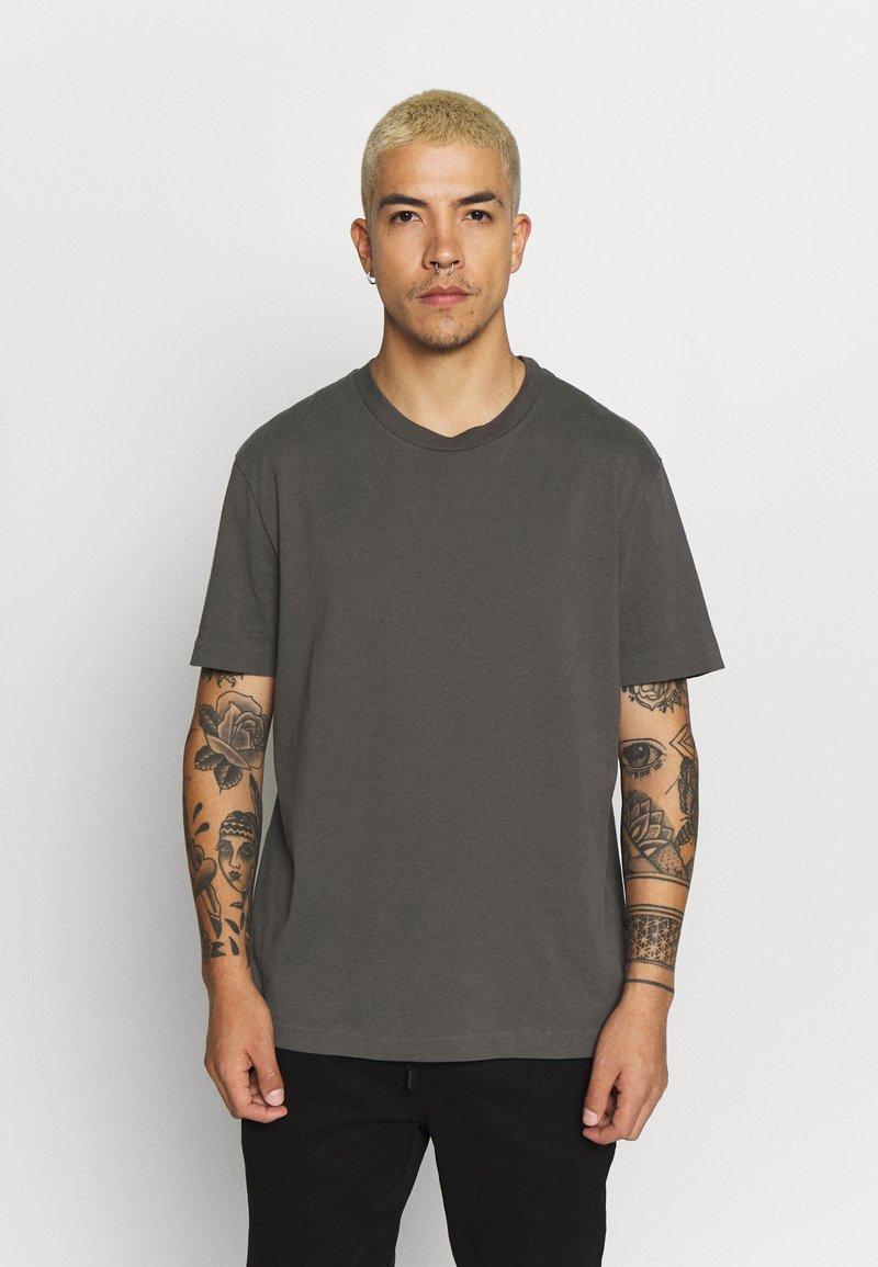 AllSaints - MUSICA - Basic T-shirt - alp grey