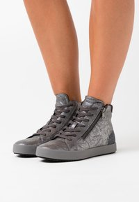 Geox - BLOMIEE - High-top trainers - anthracite - 0