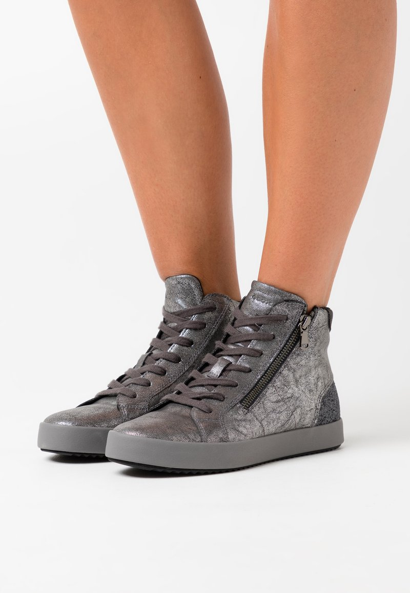 Geox - BLOMIEE - High-top trainers - anthracite