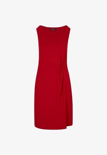 Jersey dress - deep red