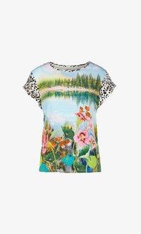 Marc Cain - Print T-shirt - pea - 4