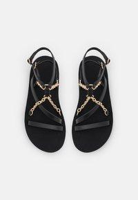 maje - FRANKIECHARM - T-bar sandals - noir - 4