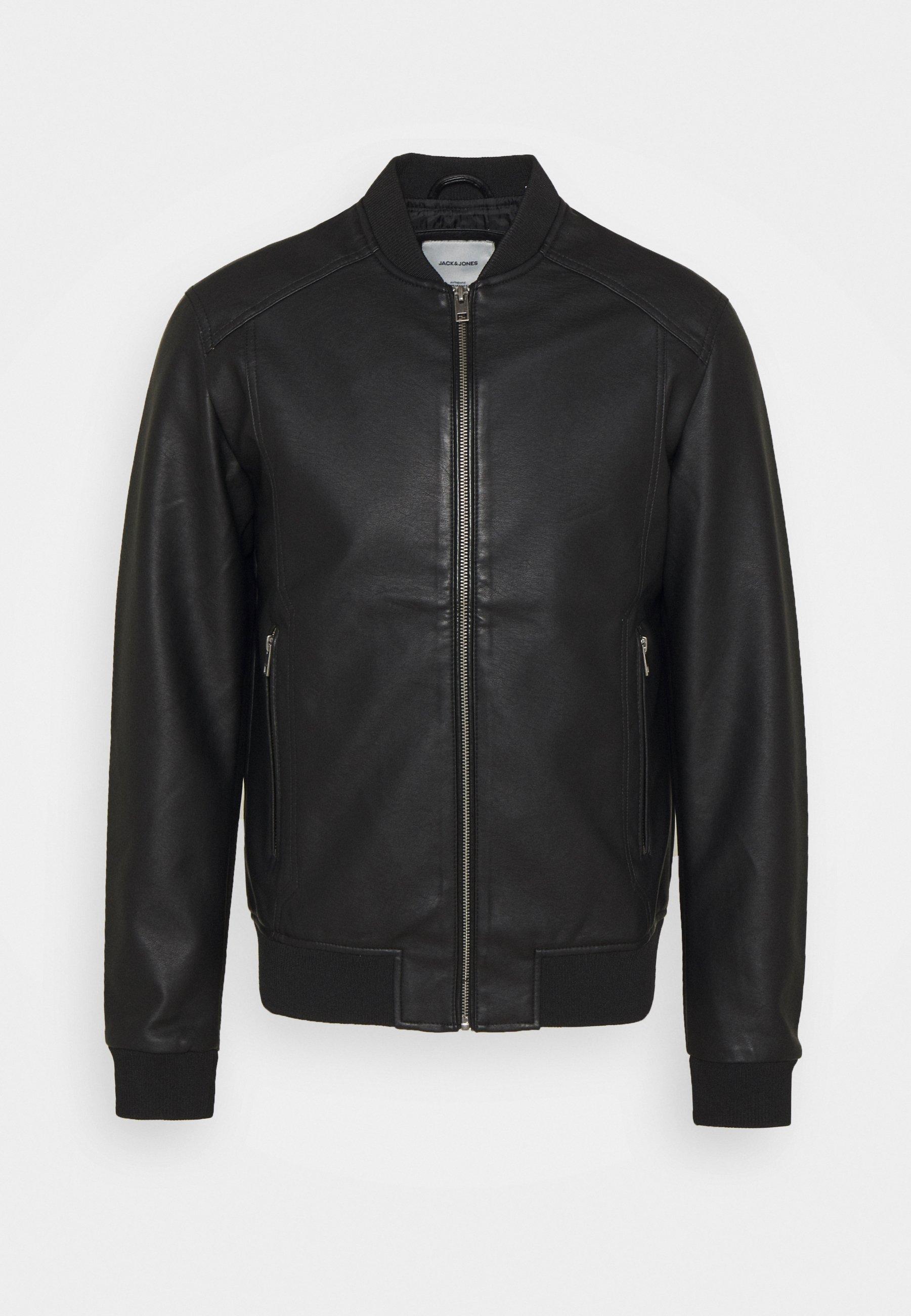 Men JJLOGAN JACKET - Faux leather jacket