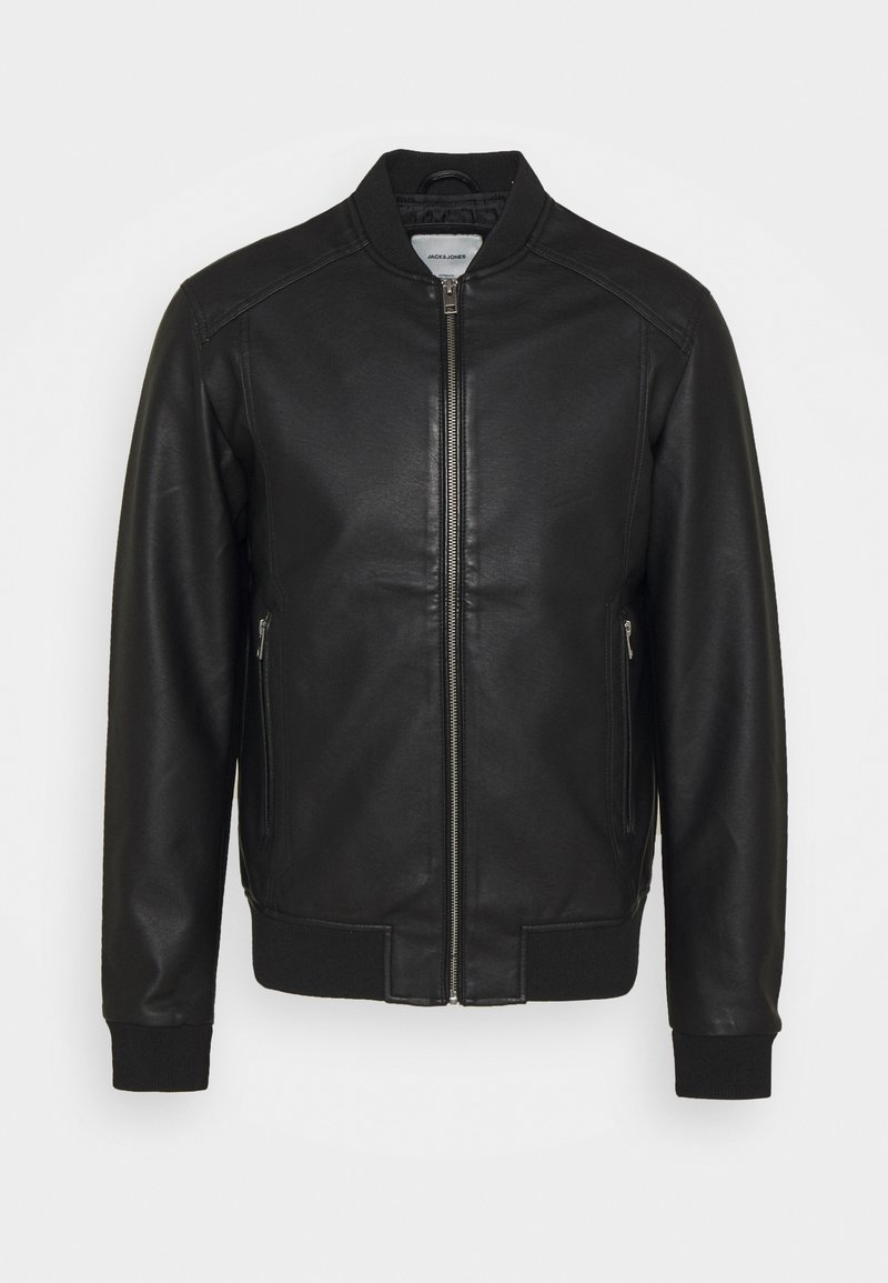 Jack & Jones - JJLOGAN JACKET - Faux leather jacket - black