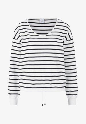SUNA - Pullover - schwarz/off-white