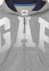 GAP - ARCH HOOD - Zip-up sweatshirt - light heather grey - 2
