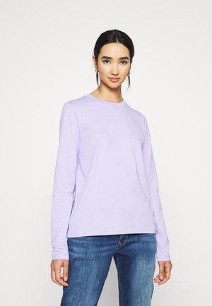 Long sleeved top - lavender