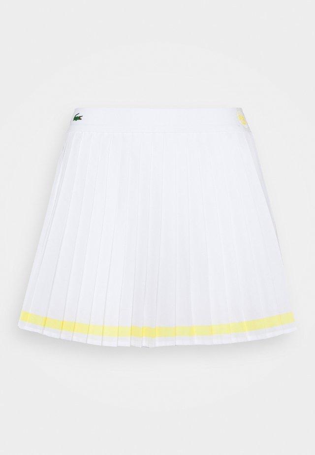 TENNIS SKIRT - Sportkjol - white/sunny white