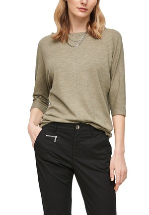 Long sleeved top - summer khaki
