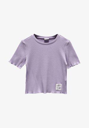 T-shirt basic - lilac