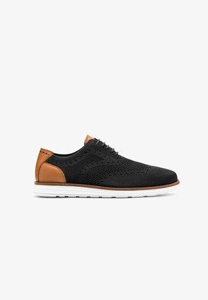 TOMPEL - Zapatos con cordones - Black