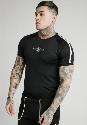 LEGACY FADE TECH TEE - T-shirt med print - black/white