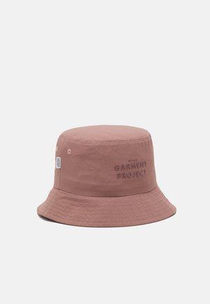 LOGO BUCKET HAT UNISEX - Kapelusz - dusty pink