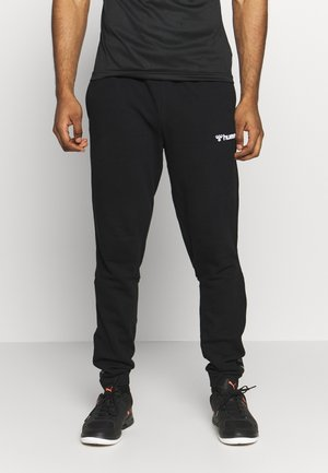 AUTHENTIC PANT - Tracksuit bottoms - black/white