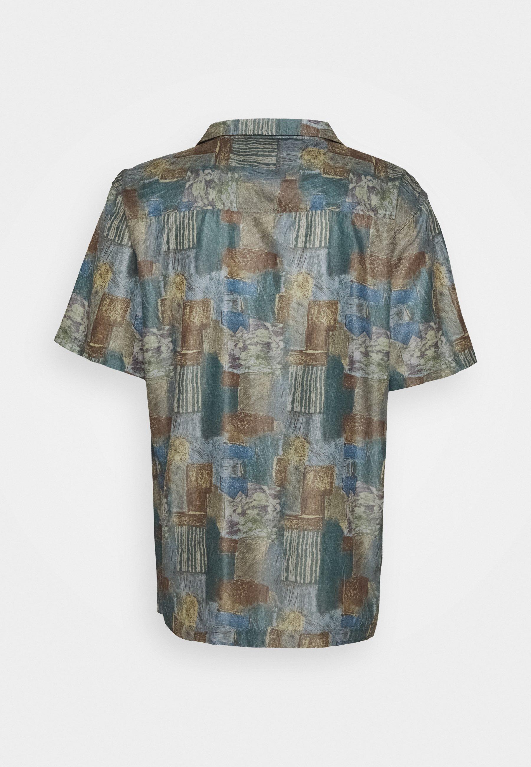 Han Kjobenhavn Summer Shirt Short Sleeve - Hemd Burned Paint