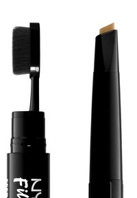Nyx Professional Makeup - FILL&FLUFF EYEBROW POMADE PENCIL - Eyebrow pencil - blonde - 2