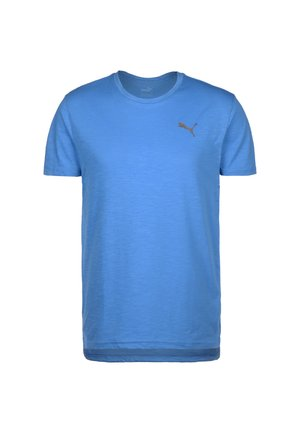 ENERGY  TRAINING TEE MAND - Basic T-shirt - palace blue heather
