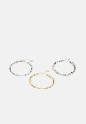 PCNAIBE BRACELET 3 PACK - Bracelet - gold-coloured/silver-coloured